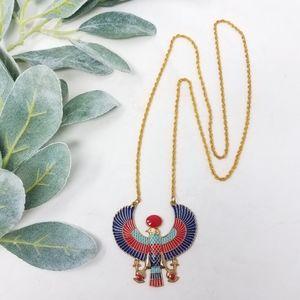 Phoenix Eagle Egyptian Necklace